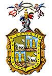 Escudo de la Pascua - Versión más antigua, cortesía de Manuel de la Pascua Hernández